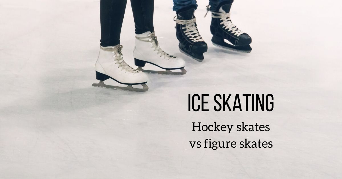 FB hockey skates vs figure skates