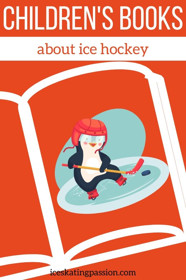 hockey books for kids Pin