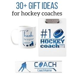 ice hockey coach gift ideas