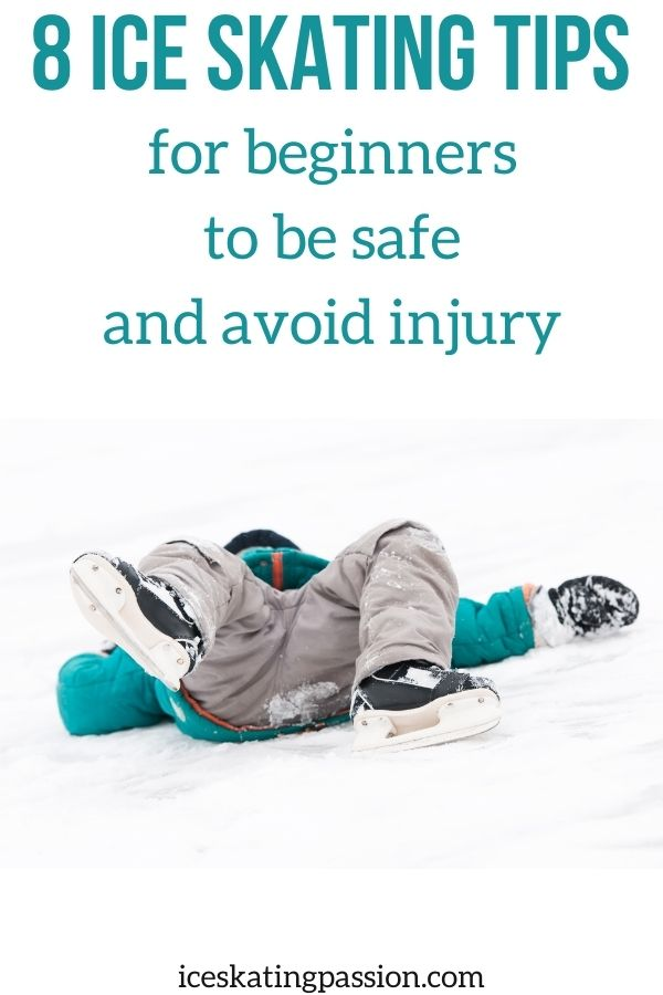 risk Ice skating beginner tips to avoid injury Pin2