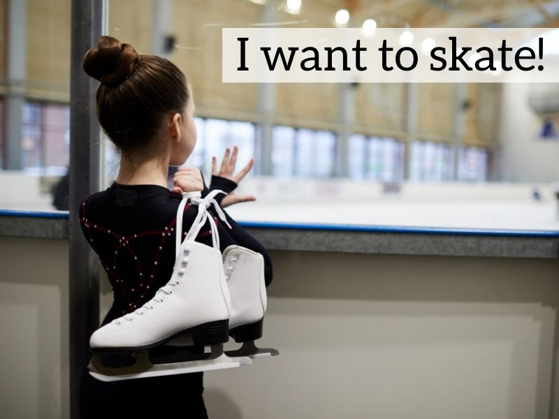 Figure skater mom tip - wish of skater