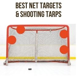 Best hockey net targets shooting tarp
