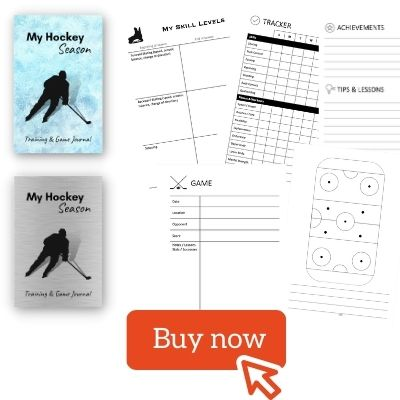 Season Hockey Training journal notebook