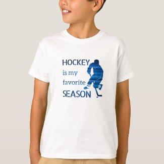 ice hockey tshirt favorite season